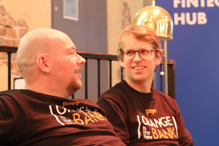 Sten Roger Sandvik (f.v.) og Trond Urdahl (Foto: Johannes Jakobsen).