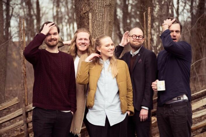 Spiff-teamet. Foto: Andreas Øverland.