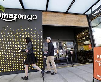 Amazon åpner kasseløs matbutikk