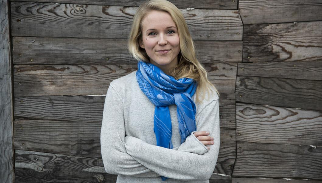 Christine Spiten, sjefstrateg og medgründer av Blueye, har kommet på Forbes' liste over unge og viktige teknologientreprenører. Foto: Per-Ivar Nikolaisen