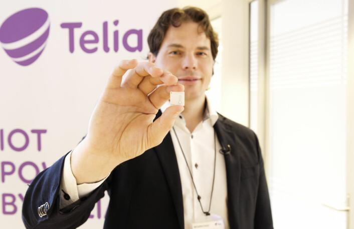 Erik Fossum Færevaag i Disruptive Technologies. Foto: Per-Ivar Nikolaisen