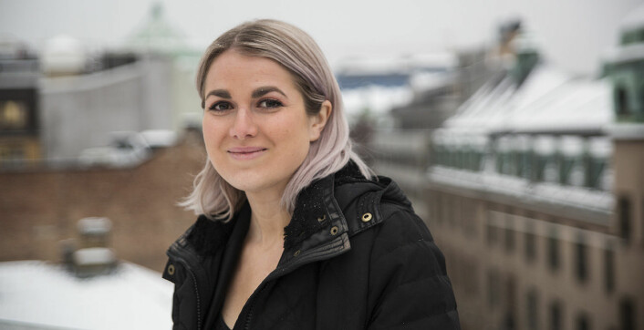 CFO Catharina Brandth Husjord kjøpte seg opp i Vibbio, da Stine Norum gikk ut. Foto: Per-Ivar Nikolaisen