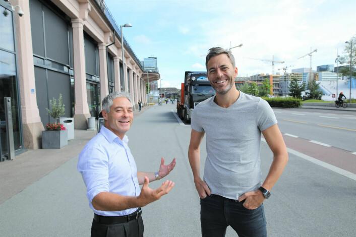Salvador Baille og Andreas Thorsheim. Foto: Lucas Weldeghebriel
