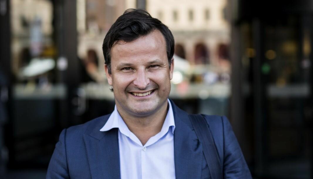 Seriegründer og investor Are Traasdahl.