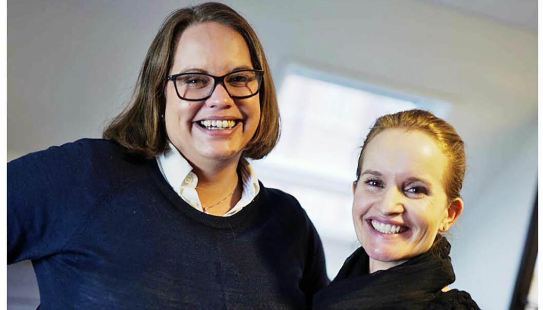 Maria Willoch og Marianne Bratt Ricketts i Vibbio.