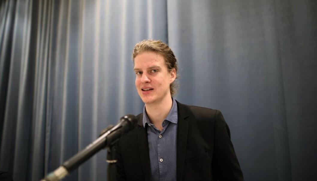Torbjørn Bull Jenssen er ekspert på kryptovaluta. Foto: Lucas H. Weldeghebriel