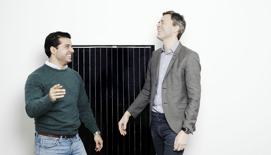 Babak Tighnavard og Andreas Thorsheim. Foto: Anna-Julia Granberg