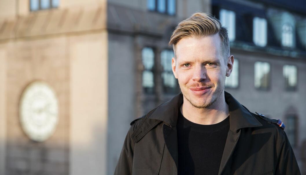 Thor Richard Isaksen er tidligere kommunikasjonssjef i Zedge og nå gründer av Instapoll. Foto: Per-Ivar Nikolaisen