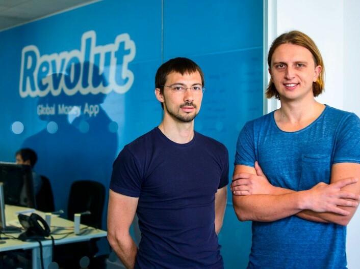 Gründerne i Revolut: Vlad Yatsenko og Nikolay Storonsky. Foto: Revolut.