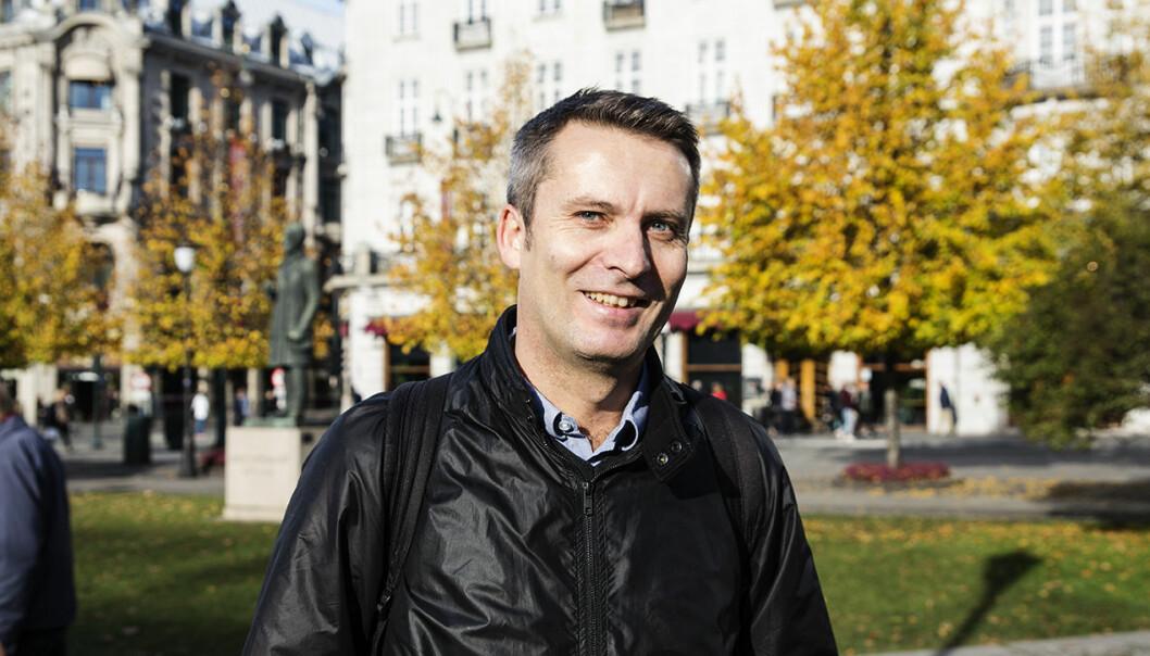 Daniel Ras-Vidal i Foreningen for innovasjonsselskaper i Abelia. Foto: Per-Ivar Nikolaisen