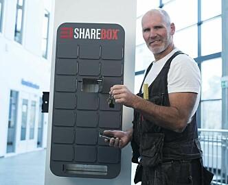 17.000 nøkkelleveringer på tre måneder: Nå drar Sharebox til London