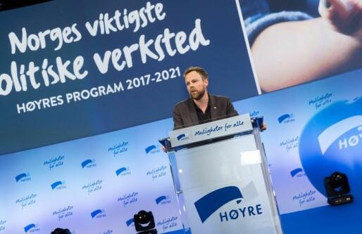 Torbjørn Røe Isaksen (H) frir til gründerne: Vil gi skattefradrag til startupinvestorer og endre opsjonsskatt