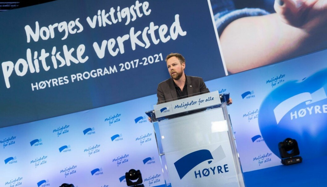 Tørbjørn Røe Isaksen. Foto: Høyre