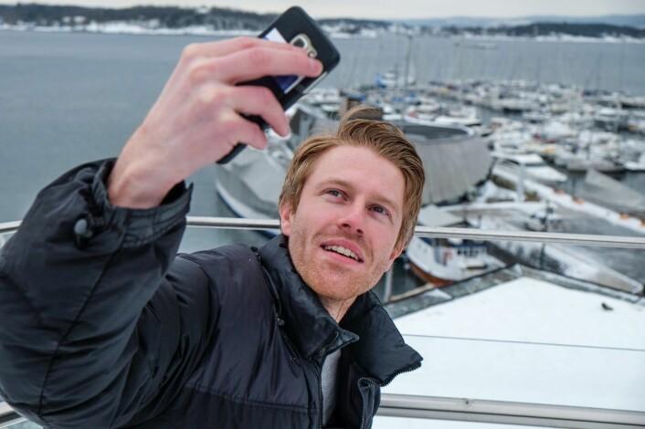 Ideen til SmartWay kom etter gjentatte fjellturer uten kontanter eller god dekning på mobiltelefonen. Foto: Vilde Mebust Erichsen.