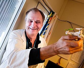 Kjendislege blir dronegründer: Vil sende blodprøver mellom sykehus