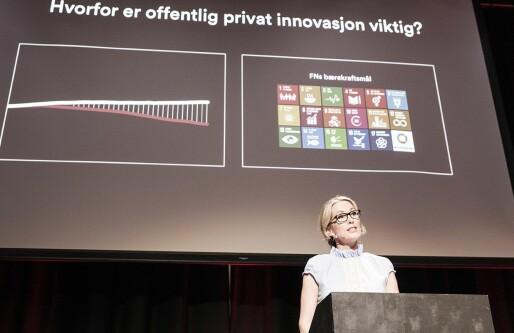 Anita Krohn Traaseth fikk en advarsel fra Innovasjon Norge-styret på 13 punkter