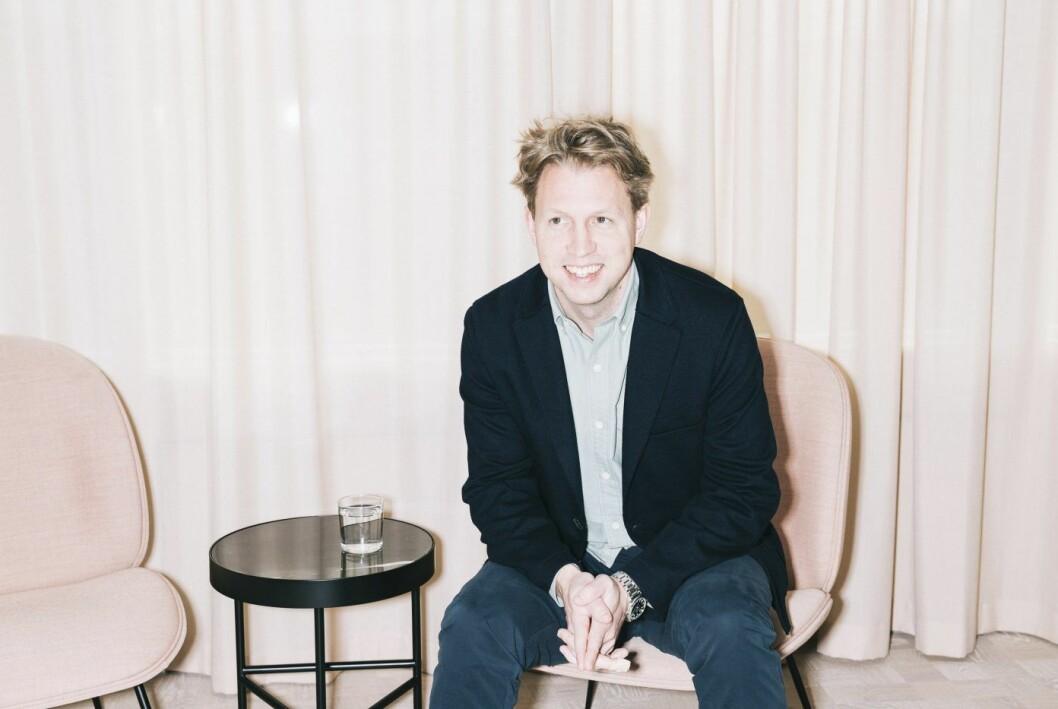 Daniel Kjellén, gründer og CEO i Tink.
