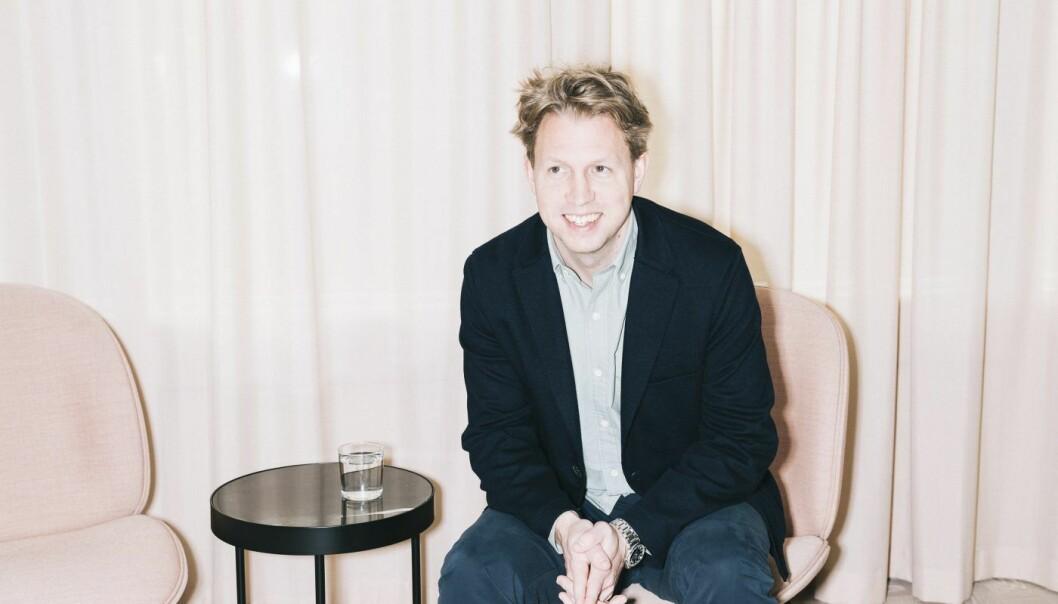 Daniel Kjellén, gründer og CEO i Tink.  Foto: Tink