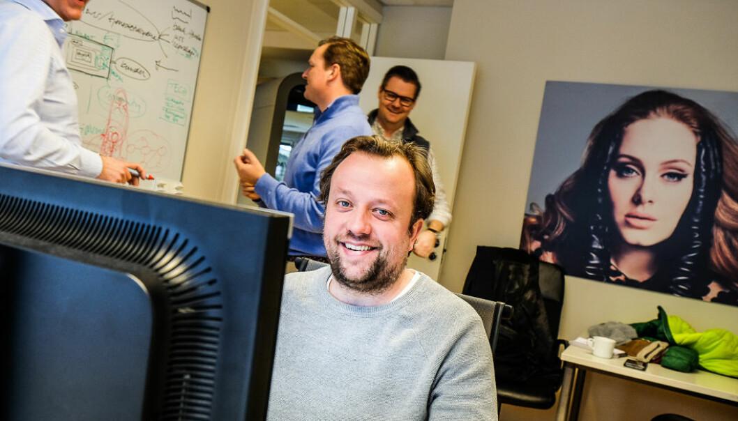 BizBots gründer og CMO Didrik Martens. Foto: Vilde Mebust Erichsen