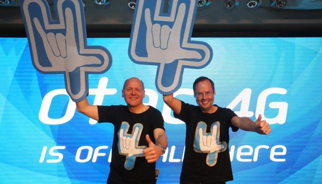 Sigve Brekke og Lars-Åke Norling. Sistnevnte skal nå søke nye utfordringer et annet sted.