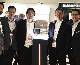 Norske sensorgründere vant eiendomsteknologiens Oscar