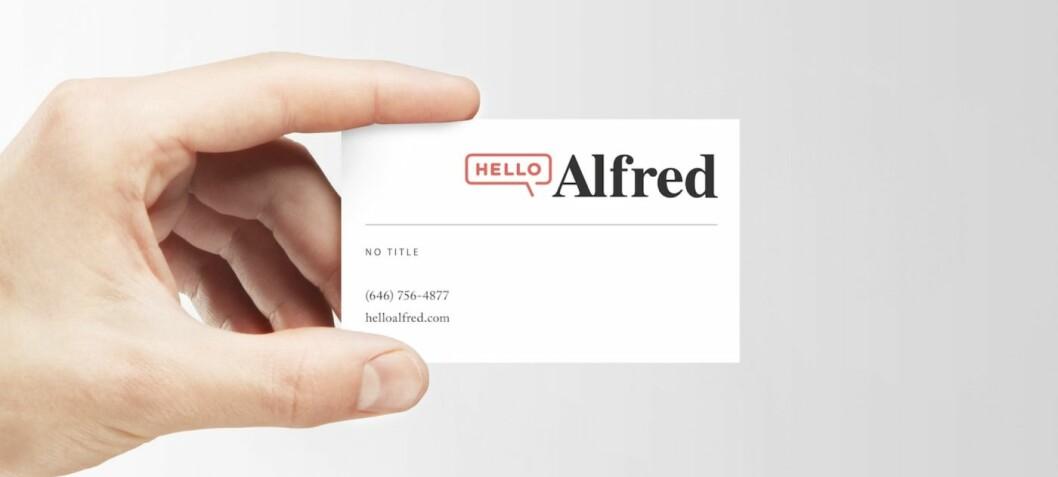 Hello Alfred er et av verdens mest innovative selskaper - med Bjelland jr. fra Oslo på laget