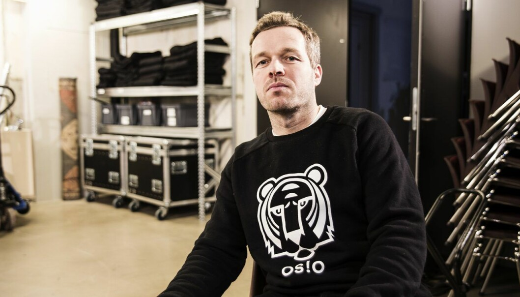 Fredrik Winther, avtroppende leder i Oslo Business Region. Foto: Per-Ivar Nikolaisen