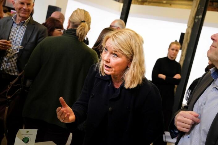 Kommunal- og moderniseringsminister Monica Mæland ønsker et innovasjonsløft i stat og kommune. Foto: Vilde Mebust Erichsen