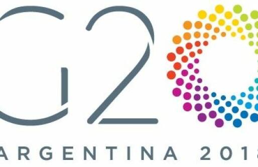 G20 vil diskutere kryptovaluta og skatt på nettselskaper