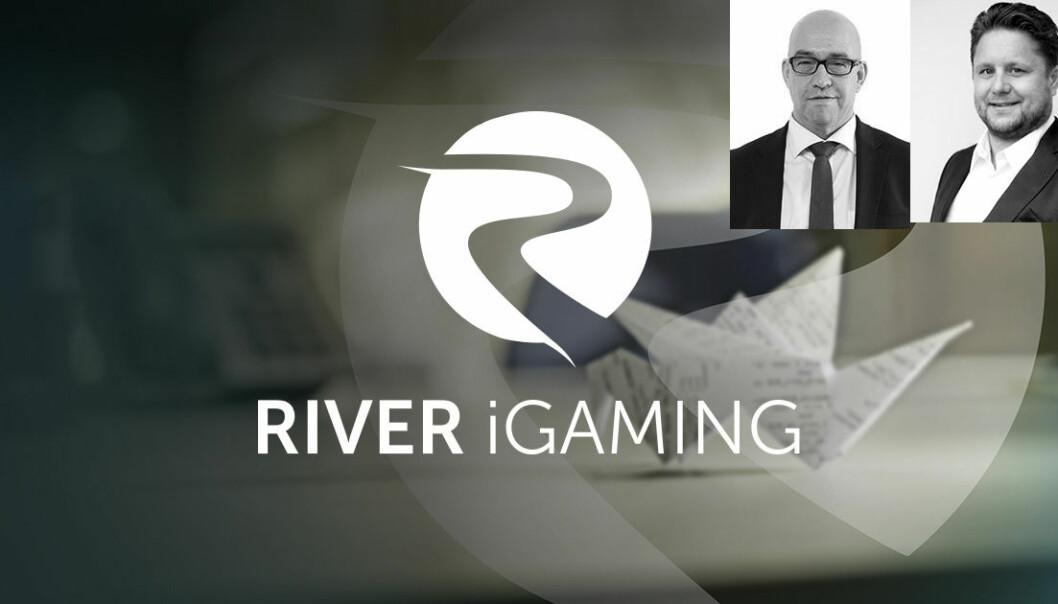 Morten Klein  (t.v.) og Kristian Lundkvist har startet River iGaming, sammen med Ketil Skorstad.