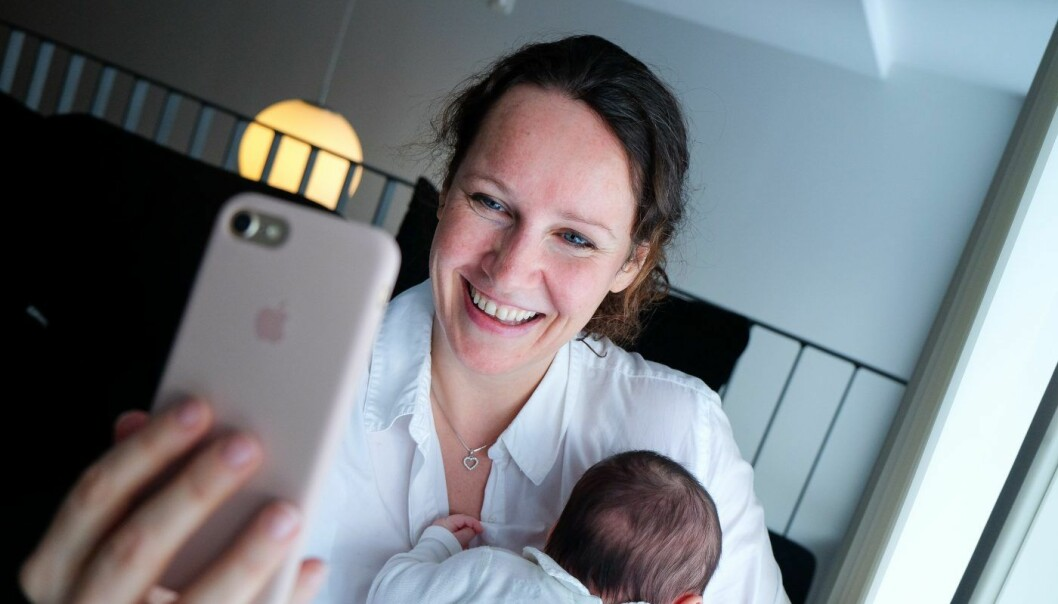 Tech-gründer Siri Warren vil inkludere de eldre med appen KAMA. Foto: Vilde Mebust Erichsen