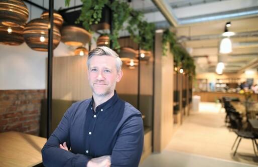 Gir seg i Monner noen måneder etter lansering! Blir sjef i SR-Banks 300 millioners-prosjekt.