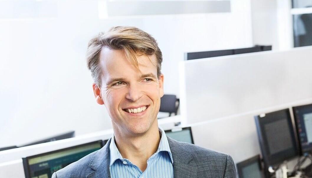 Bjarne Lie er managing partner i Verdane Capital. Foto: Verdane Capital