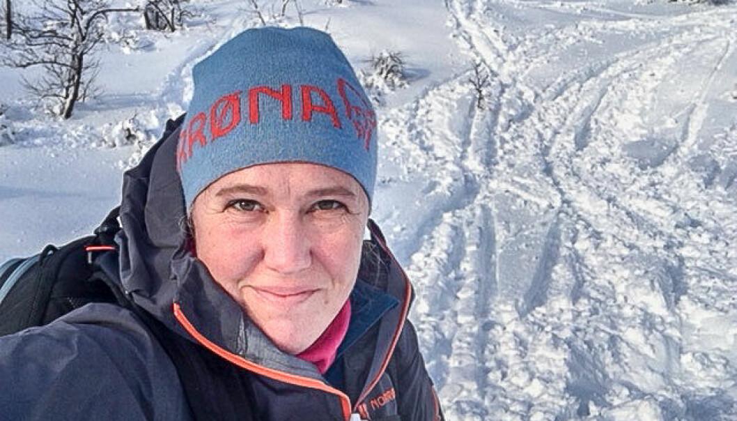Monica Vaksdal hadde mange års erfaring fra oljebransjen før hun ble gründer av Think Outside. Selskapet jobber med teknologiske løsninger rettet mot turisme og friluftslivsegmentet. Foto: Privat