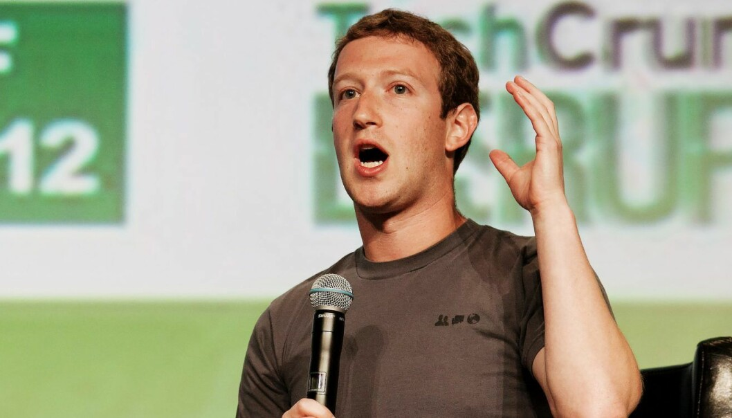 Mark Zuckerberg under TechCrunch Disrupt. Foto: JD Lasica/Flickr