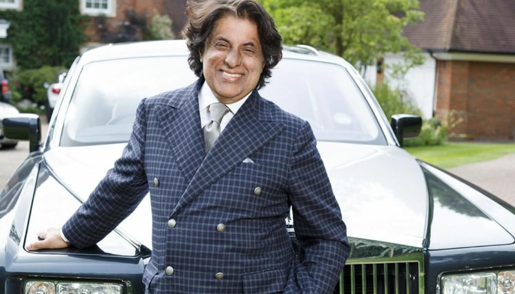 Britisk-indiske Tej Kohli er, ifølge Forbes Magazine, god for nærmere 47 milliarder kroner. Foto: Kohli Ventures