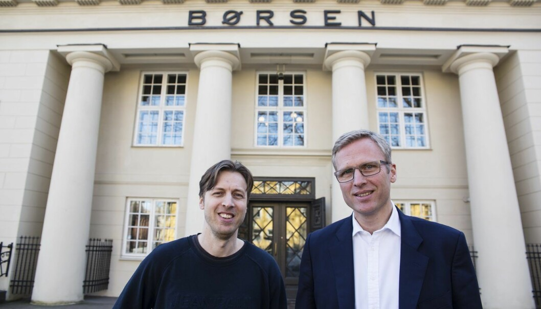 Brødrene Lars og Thomas Nygaard i NorQuant. Foto: Per-Ivar Nikolaisen