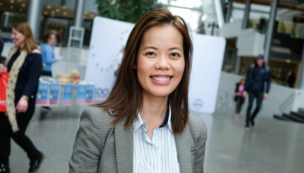 Prosjektleder Hoa Le Nguyen i ny scaleup-akselerator. Foto: Vilde Mebust Erichsen