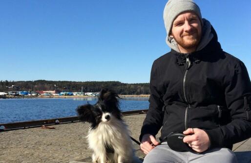 Han bruker all fritid på å utvikle egen hunde-app: Tar betalt i «lykkelige gjenforeninger»