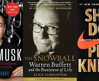 Shifter anbefaler: Disse fem biografiene bør du lese i påsken