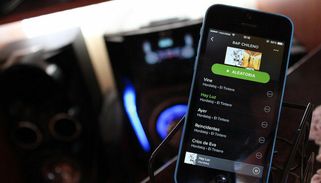 Svenske Spotify ble 3. april børsnotert i New York.