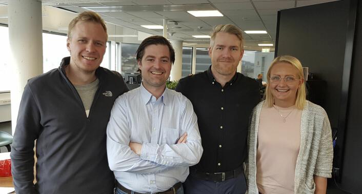 Lifekeys er én av to norske startuper som skal delta i Tryg Xplore-programmet. Totalt syv startuper skal delta. Foto: Lifekeys