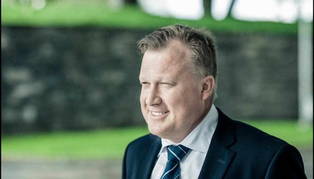Administrerende direktør Joachim Høegh-Krohn i Argentum.