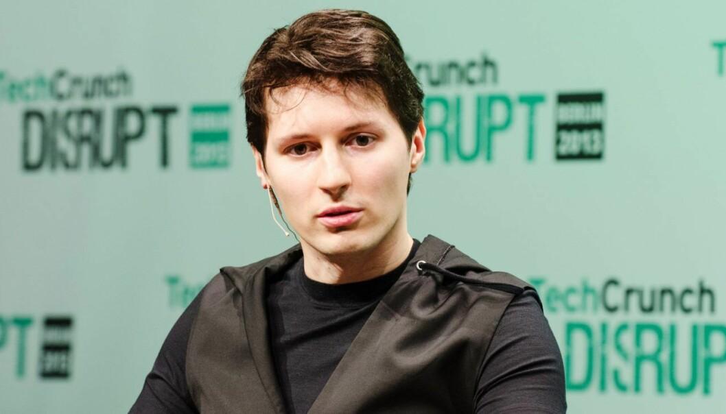 Pavel Durov har gründet Telegram. Foto: Techcrunch Disrupt