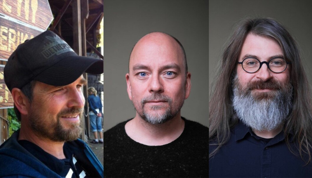 Øyvind Rostad, Even Westvang og Simen Svale Skogsrud starter Sanity.
