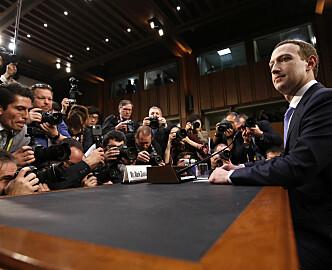 Zuckerbergs 5 timer i Kongressen: – Umulig å starte et selskap i studenthybelen, og så la det vokse til å bli så stort, uten å gjøre noen feil