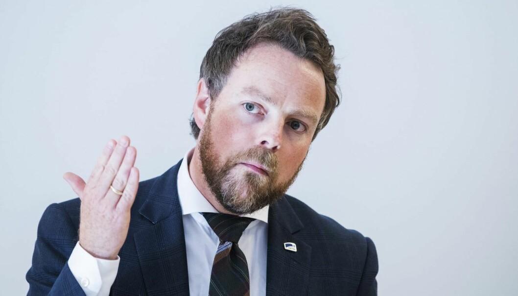 Torbjørn Røe Isaksen. Foto: Håkon Mosvold Larsen / NTB scanpix