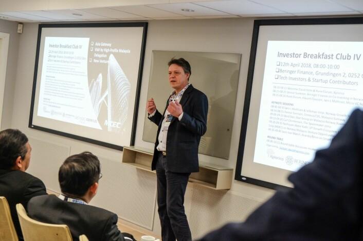 Steinar Evensen er gründer og administrerende direktør i teknologiselskapet Conexus. Foto: Vilde Mebust Erichsen