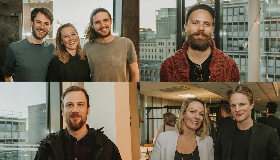 Ducky, EntrepreneurShip One, Byspire og Nyby var blant startupene som pitchet på Folk Oslo, da investorer fra Malaysia var i byen. Foto: Benedicte Tandsæther-Andersen