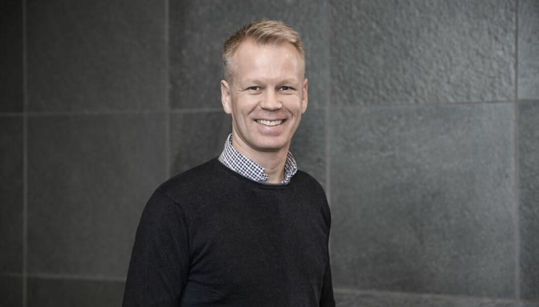 Anders Thingbø blir ny Zaptec-sjef i juni. Han tar over etter Simen Teigre.  Foto: Zaptec